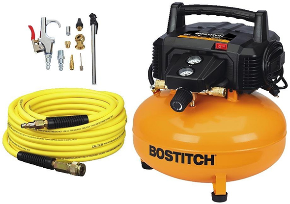 Bostitch BTFP02012 Air Compressor with Hose and Accessory Kit