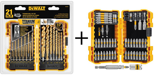 Dewalt DWAMAXTP Drill and Screwdriver Bit Bundle