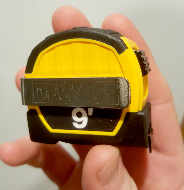 Dewalt Pocket Tape Measure Size