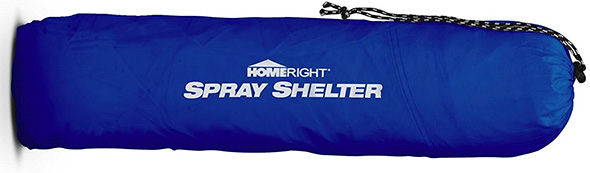 HomeRight Large Spray Shelter Collapsed and Bagged for Transport or Storage