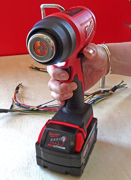 new milwaukee m18 cordless compact heat gun. Black Bedroom Furniture Sets. Home Design Ideas