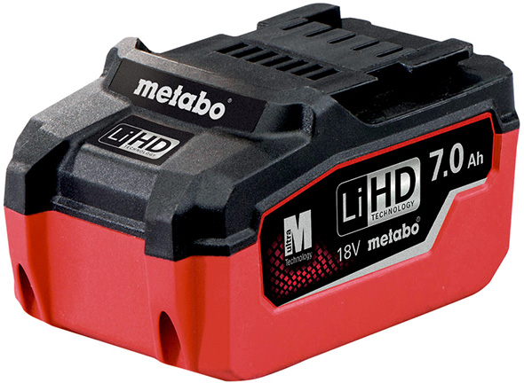 Metabo 18V 7Ah Battery Pack