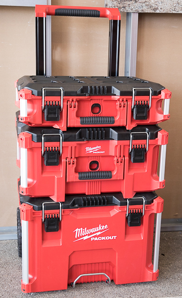 Milwauke Packout Tool Box Stack