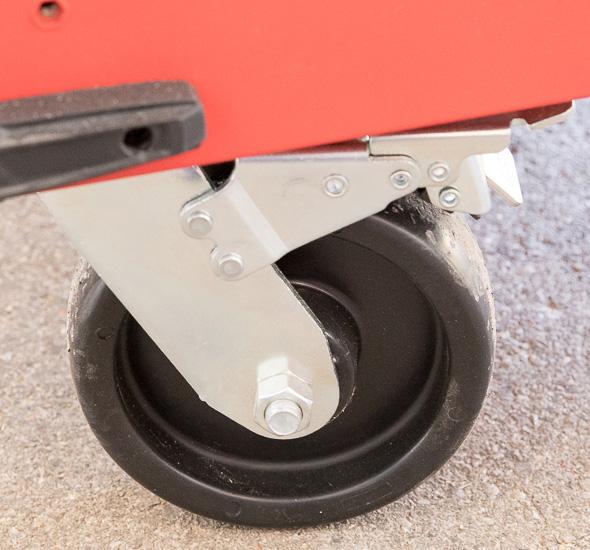 Milwaukee 46-Inch Premium Tool Storage Combo Bottom Drawer Organization
