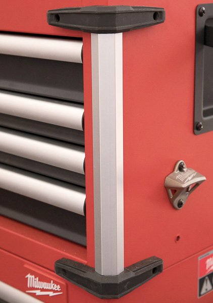Milwaukee 46-Inch Premium Tool Storage Combo Corner Reinforcement