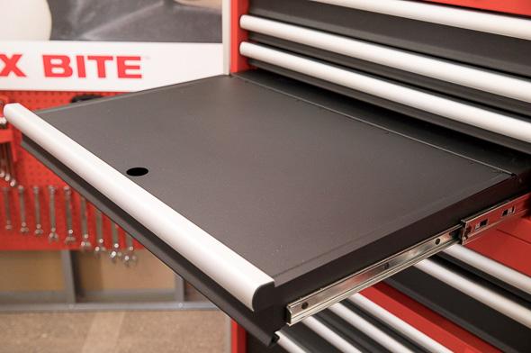 Milwaukee 46-Inch Premium Tool Storage Combo Laptop Drawer and Worktop