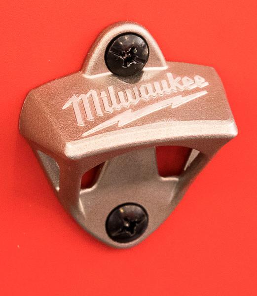 Milwaukee 46-Inch Premium Tool Storage Combo Side-Mounted Bottle Opener