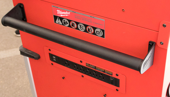 Milwaukee 46-Inch Premium Tool Storage Combo Tubular Lower Side Handle