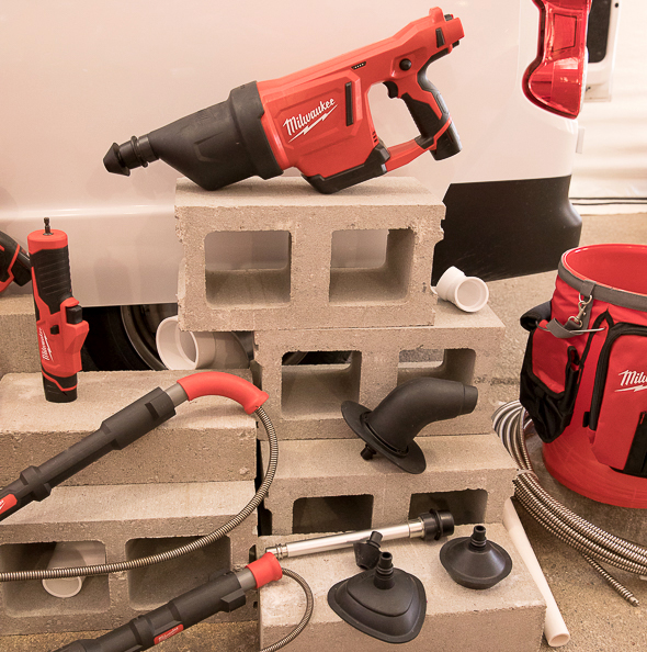 Milwaukee Drain Clearing Tools