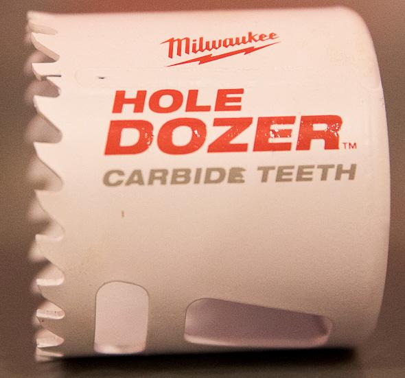 Milwaukee Hole Dozer with Carbide Teeth
