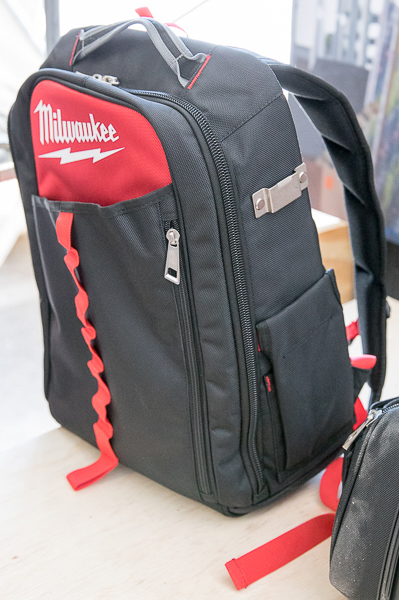 Milwaukee Low Profile Tool Backpack Side
