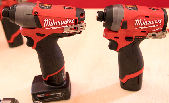Milwaukee M12 Fuel 2nd Gen Brushless Impact Driver Compared to Older Model