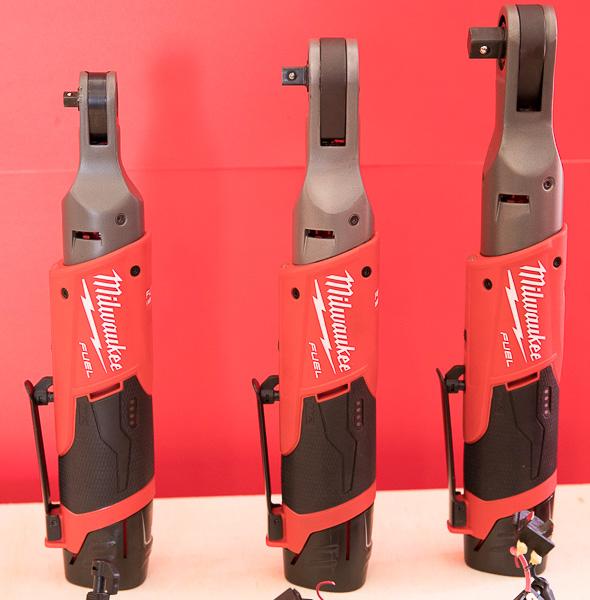 Milwaukee M12 Fuel Brushless Ratchets