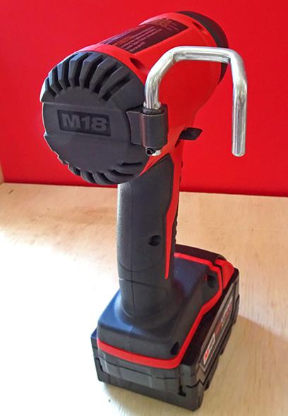 New Milwaukee M18 Cordless Compact Heat Gun