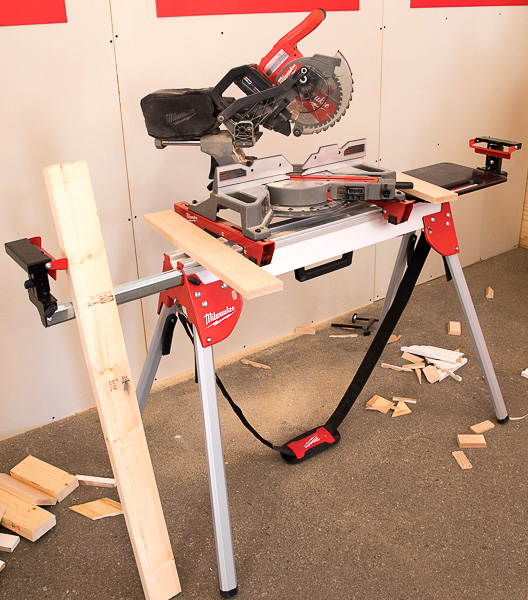 Best cordless miter saw 2018 edition milwaukee m18 fuel compact sliding miter saw on compact stand greentooth Image collections