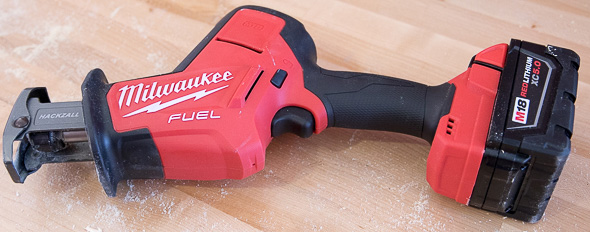 Milwaukee M18 Fuel Hackzall