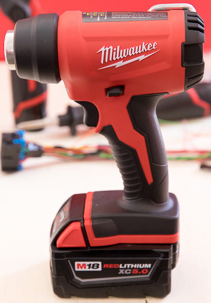 Milwaukee M18 Heat Gun