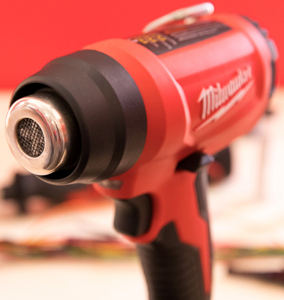 review milwaukee m18 cordless heat gun  new milwaukee m18 cordless compact heat gun