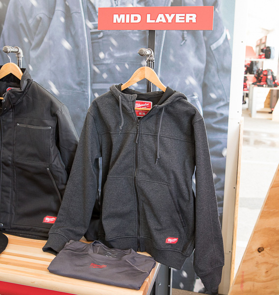 Milwaukee Mid Layer Hoodie Jacket