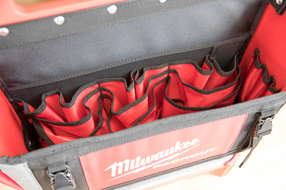 Milwaukee Packout Medium Tool Bag Empty Tool Pouch Side