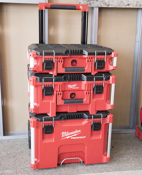 Attractive Milwaukee Packout Modular Tool Box System