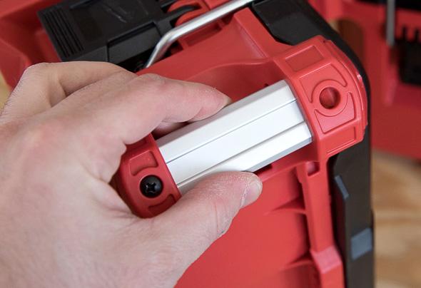 Milwaukee Packout Small Tool Box Aluminum Corner Handle