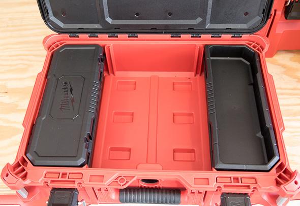 Milwaukee Packout Small Tool Box Internal Organization