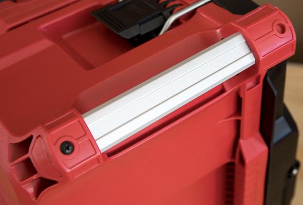 Milwaukee Packout Tool Storage Large Tool Box Aluminum Corner Handle