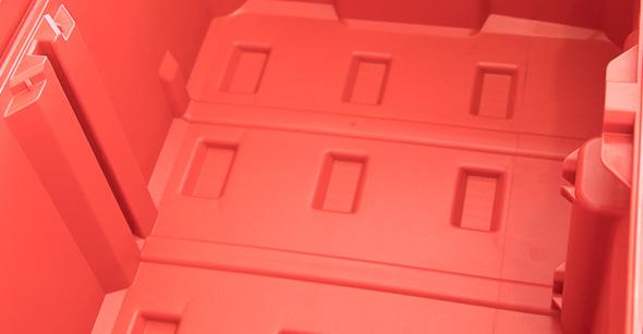 Milwaukee Packout Tool Storage Large Tool Box Empty Bottom