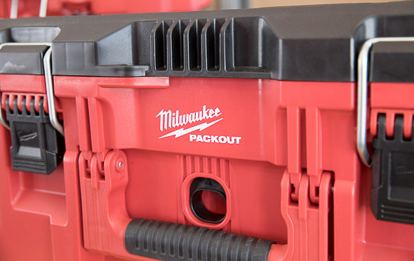 Milwaukee Packout Tool Storage Large Tool Box Front Handle