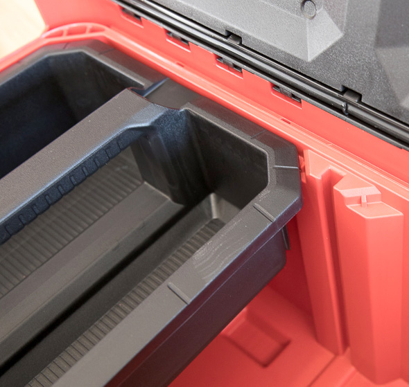 Milwaukee Packout Tool Storage Large Tool Box Removable Tote and Divider Channel