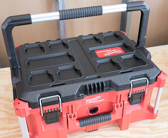 Milwaukee Packout Tool Storage Large Tool Box Top Handle