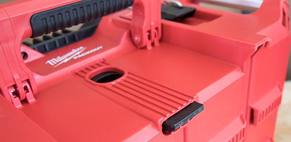 Milwaukee Packout Tool Storage Locking Spring-Loaded Tab