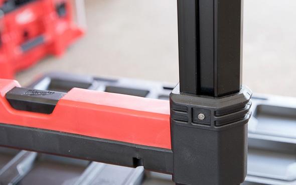 Milwaukee Packout Tool Storage Roller Tool Cart Extending Handle Slider