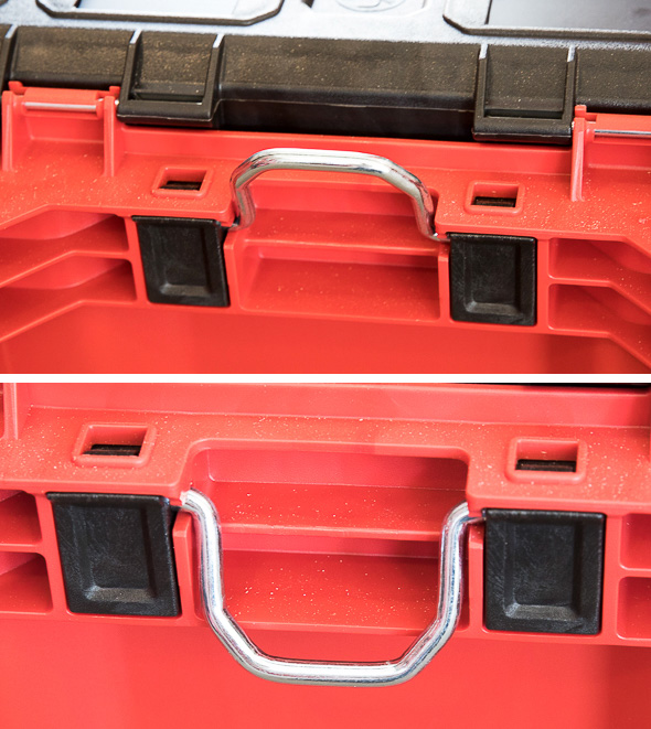 Milwaukee Packout Tool Storage Roller Tool Cart Rear Loop Anchor Point