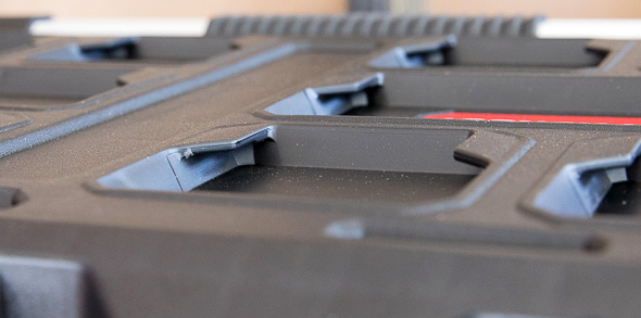 Milwaukee Packout Tool Storage Top Lid Cleat Tabs