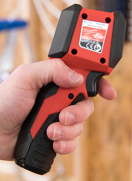 Milwaukee Spot Thermal Imager Side Grip