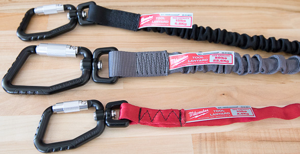 Milwaukee Tool Tether Carabiner Clips