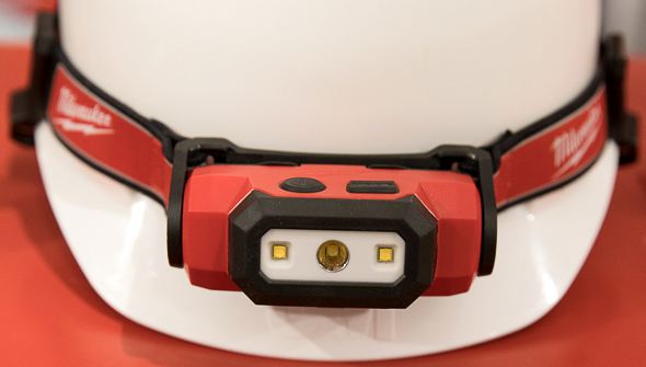 Milwaukee USB Rechargeable Hard Hat Light