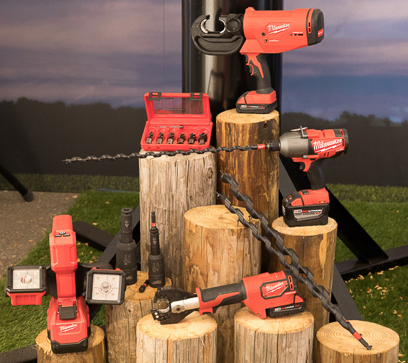 Milwaukee Utility Tools and New Drilling Accessories