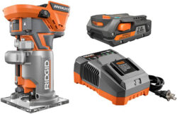 Ridgid Cordless Router Kit for $129