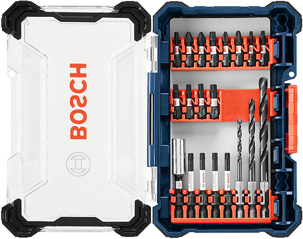 Bosch Custom Case System Small Case 20pc Starter Set