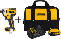 Deal of the Day: Dewalt Cordless Bare Tool and Starter Kit Bundles (7/3/2017)
