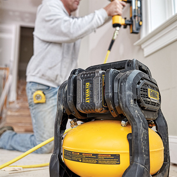 New Dewalt Flexvolt Cordless Air Compressor