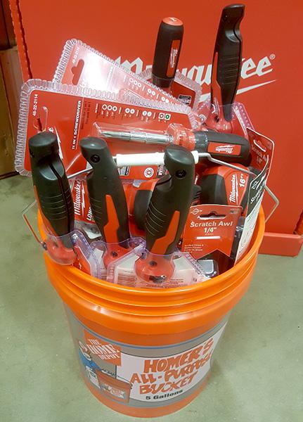 Home Depot DIYer Tool Kit Buying
