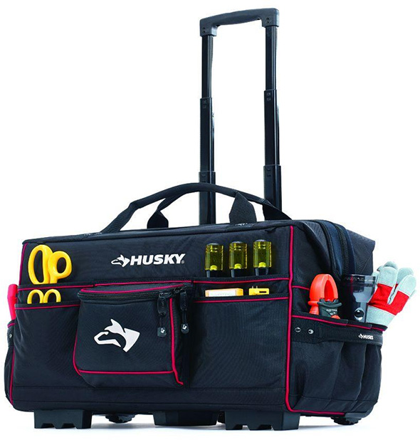 Husky 22-inch Pro Grade Rolling Tote
