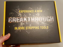'Klein Sent us a Video-Playing Press Kit to Promote Their New Heavy Duty Wire Strippers' from the web at 'http://toolguyd.com/blog/wp-content/uploads/2017/07/Klein-Heavy-Duty-Wire-Stripper-Pliers-Media-Box-250x186.jpg'