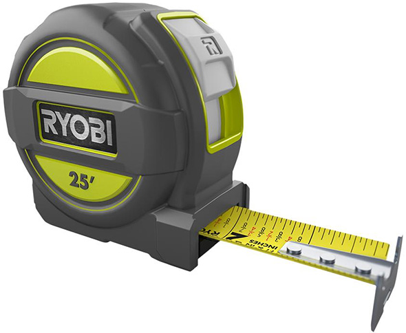 Ryobi 25-foot Tape Measure
