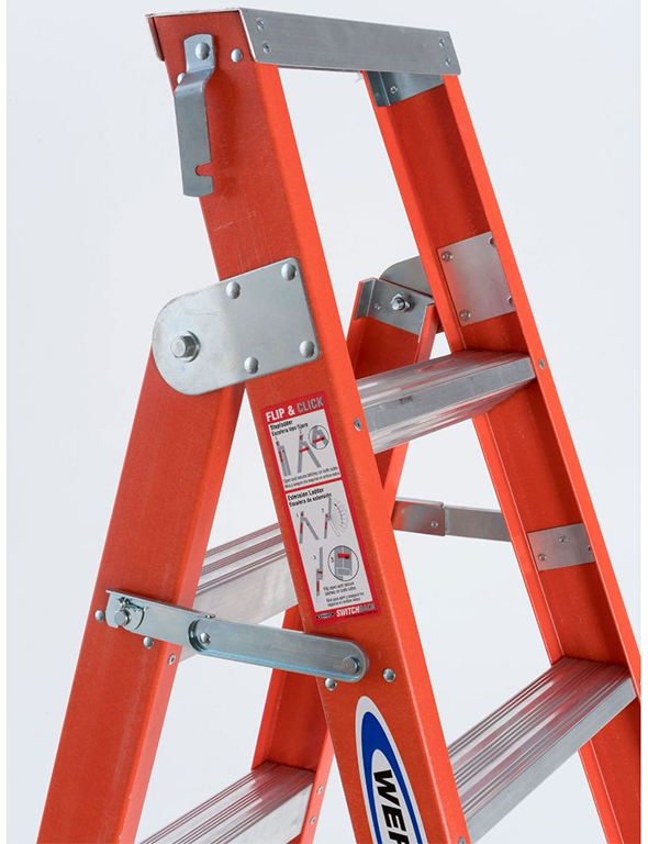 6ft Multi Purpose Step Ladders : New werner in dual use ladders