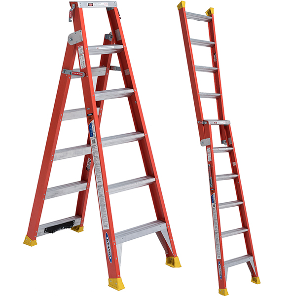 New Werner 2 In 1 Dual Use Ladders